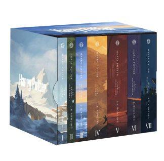 Harry Potter – cofanetto serie completa con le nuove copertine di De Lucchi