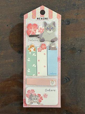 postit-segnapagina-gatto-sakura